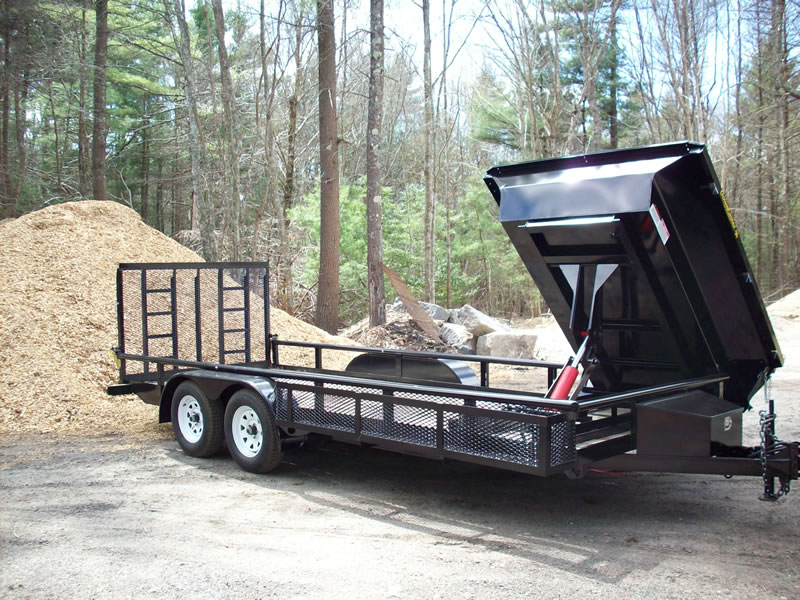 Can this work dump bed insert on trailer to make it a for Garden design trailer